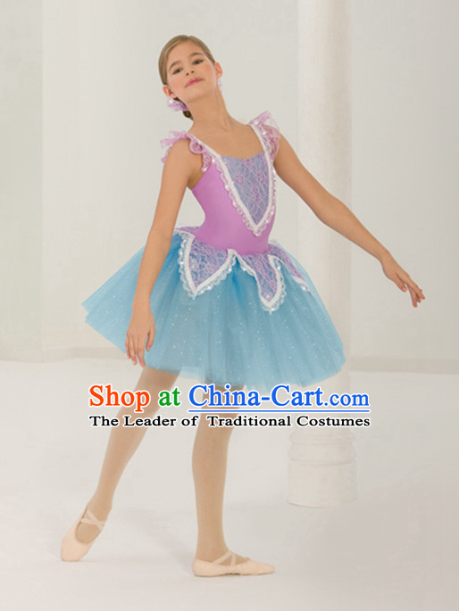 Kids Girls Tutu Ballet Costumes Tutus Tu Tu Dancing Costumes Dancewear Dance Supply Free Custom Tailored Service