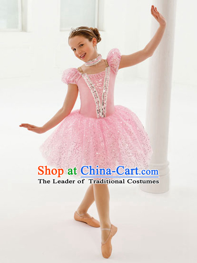 Kids Princess Tutu Ballet Costumes Tutus Tu Tu Dancing Costumes Dancewear Dance Supply Free Custom Tailored Service