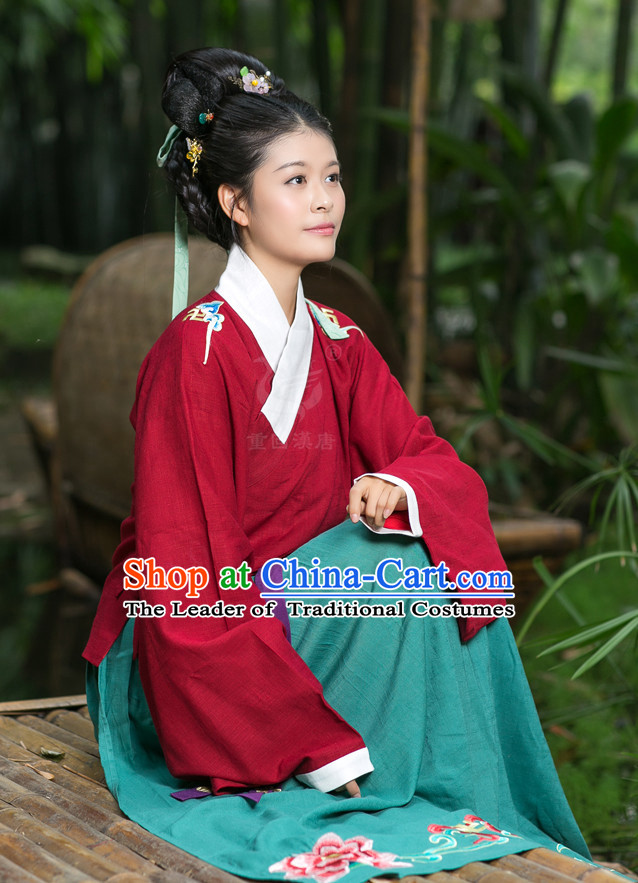Ming Dynasty Daily Wear Clothing for Women