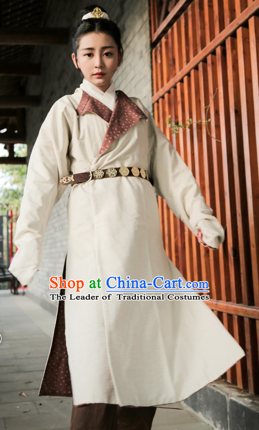 Tang Dynasty Ancient Chinese Women Clothing Complete Set