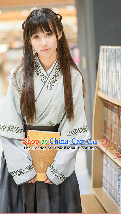 Ancient Chinese Ming Dynasty Women Costumes Kimono Costumes ...