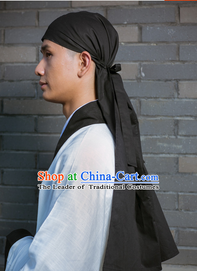 Chinese Han Dynasty Ancient Headwear Headpieces for Men