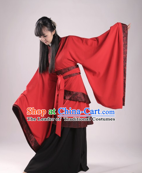 China Han Dynasty Clothing Ancient Chinese Costume Men Women Costumes Kids Garment Clothes for Women