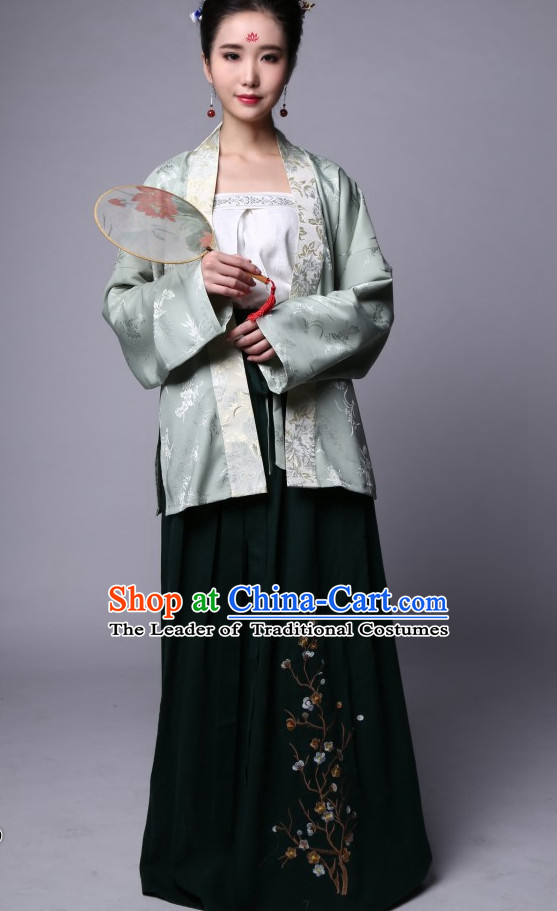 Chinese Garment Suits Costumes Clothing