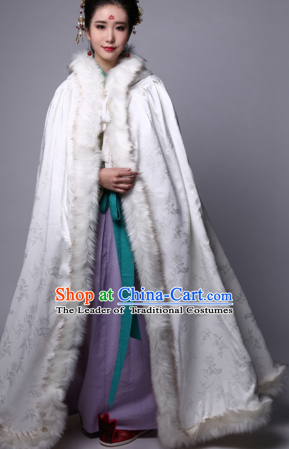 China Song Dynasty Clothing Ancient Chinese Costume Men Women Costumes Kids Garment Clothes Mantle Cape for Women