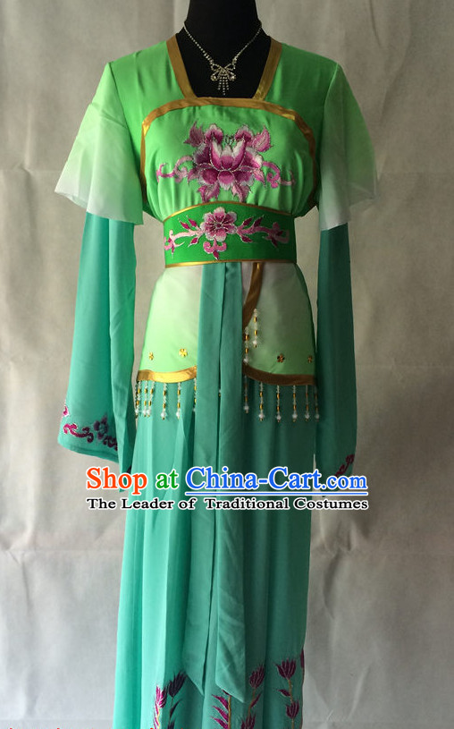 Chinese Opera Embroidered Lady Costume Traditions Culture Dress Masquerade Costumes Kimono Chinese Beijing Clothing for Women