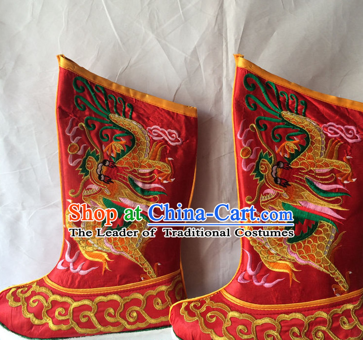 Chinese Traditional Opera Boots for Men