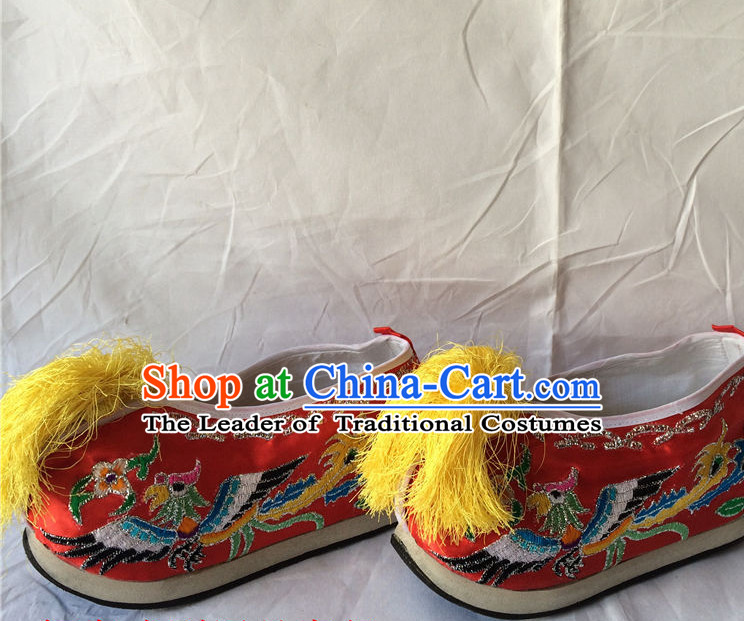 Chinese Traditional Opera Wedding Shoes for Women