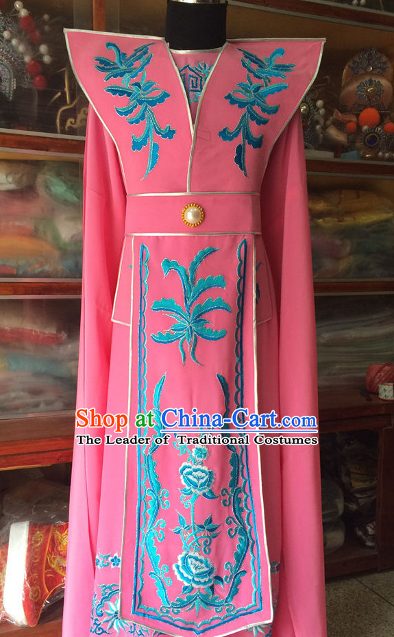 Chinese Opera Embroidered Prince Robe Costume Traditions Culture Dress Masquerade Costumes Kimono Chinese Beijing Clothing for Men