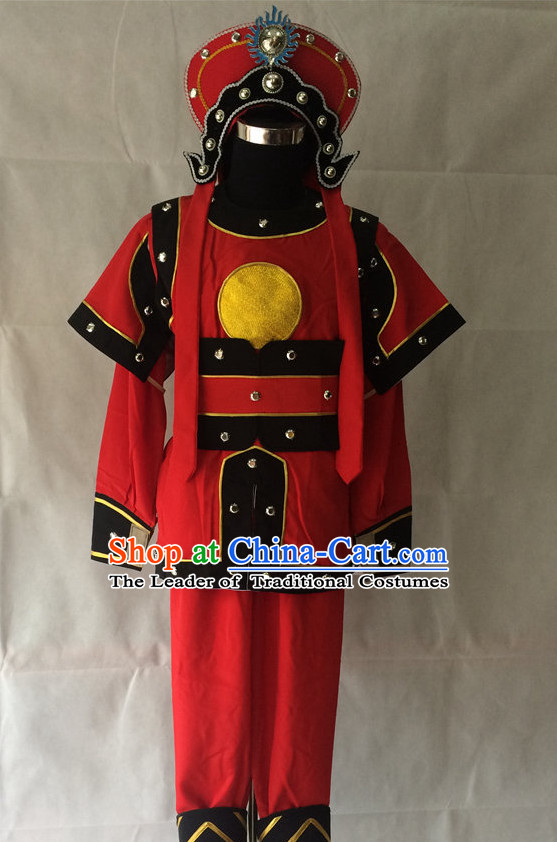 Chinese Opera Solider Costume Traditions Culture Dress Masquerade Costumes Kimono Chinese Beijing Clothing for Men