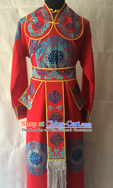 Chinese Opera Fighter Costume Traditions Culture Dress Masquerade Costumes Kimono Chinese Beijing Clothing for Men