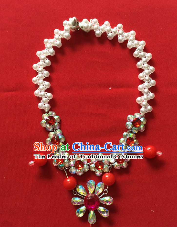 Chinese Traditional Opera Necklace for Women