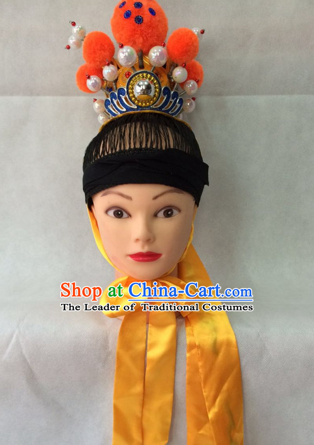 Chinese Classic Jia Baoyu Opera Hat for Men