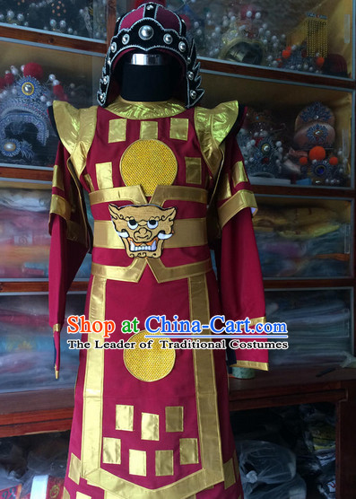Chinese Opera Costume Traditions Culture Dress Masquerade Costumes Kimono Chinese Beijing Clothing for Men