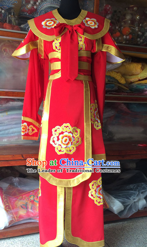 Chinese Opera Wear Costume Traditions Culture Dress Kimono Chinese Beijing Clothing for Women