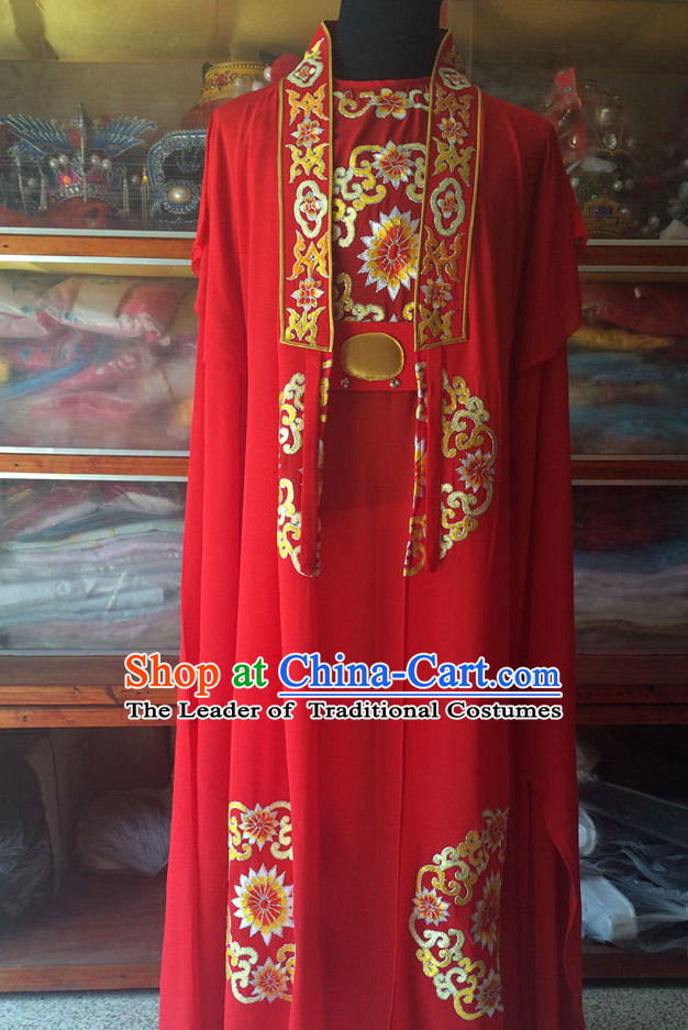 Chinese Opera Wedding Costume Clothes Dress China Costumes for Men