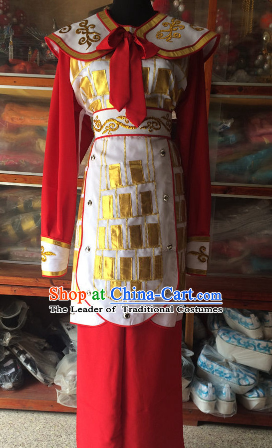 Chinese Opera Classic General Costumes Chinese Costume Dress Wear Outfits Suits for Women