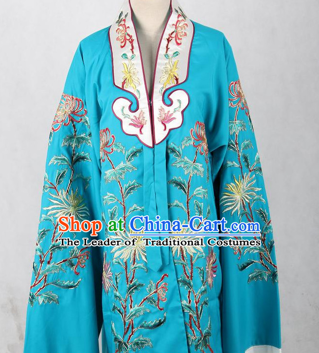 Chinese Opera Classic Mandarin Collar Costumes Chinese Costume Dress Wear Outfits Suits for Women