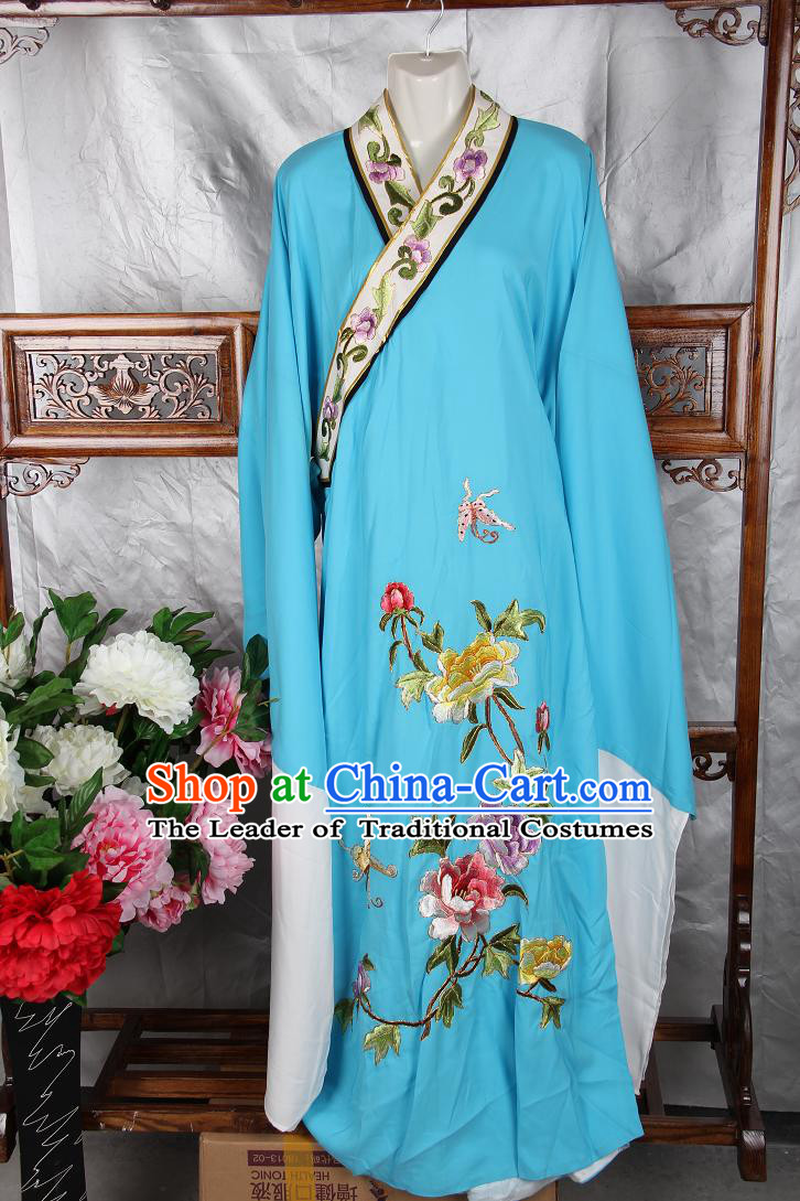 Chinese Opera Classic Embroidered Costumes Chinese Water Sleeve Costume Dress Wear Outfits Suits Mantle for Men