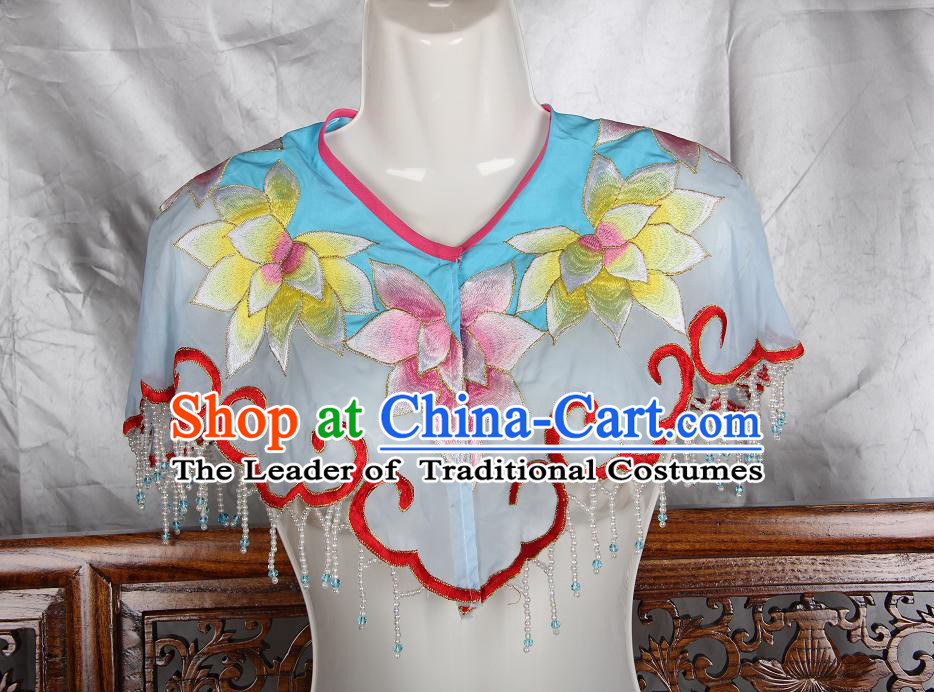 Chinese Opera Classic Shoulder DecorationsChinese Water Sleeve Costume Dress Wear Outfits Suits Mantle for Women