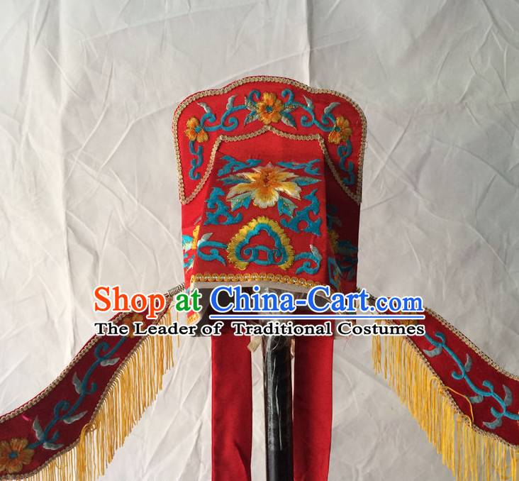 Chinese Opera Scholar Hat for Men