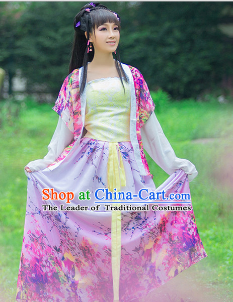 Chinese Classic Costume Ancient China Han Dynasty Costumes Han Fu Dress Wear Outfits Suits Clothing for Women