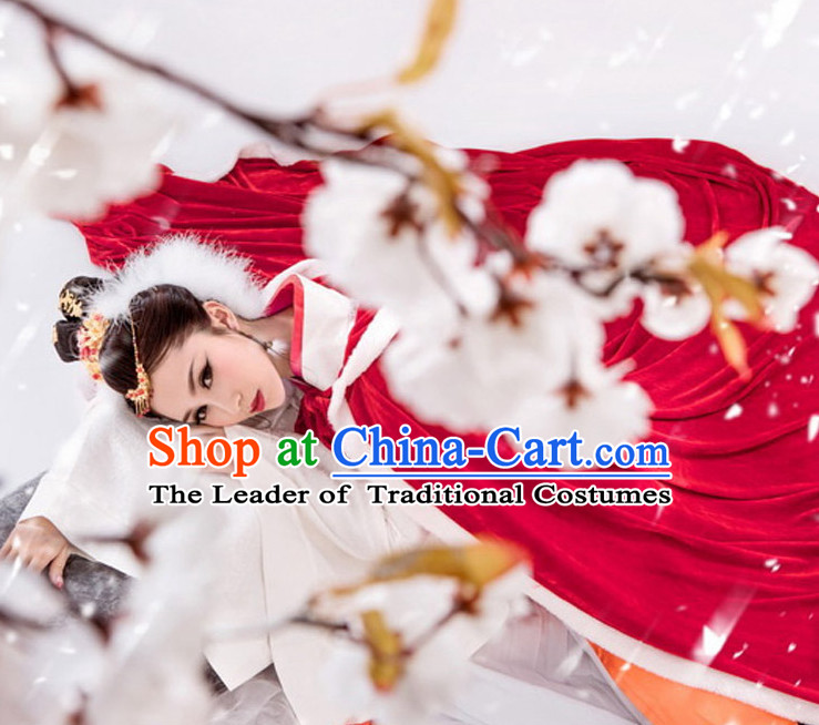 Chinese Costume Ancient China Costumes Han Fu Dress Wear Outfits Suits Clothing for Women