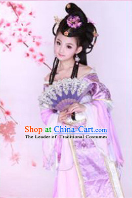 Chinese Classic Costume Ancient China Costumes Han Fu Dress Wear Outfits Suits Clothing for Kids