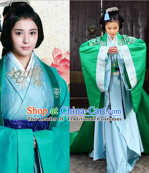 Chinese Classic Costume Ancient China Han Dynasty Costumes Han Fu Dress Wear Outfits Suits Clothing for Men
