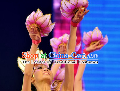 Chinese Stage Performance Flower Decorations Props