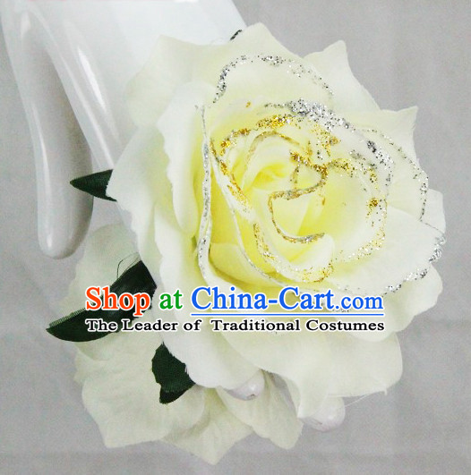 Chinese Classical Dance Flower Hands Deccorations Props