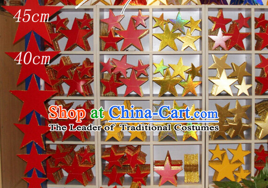 Chinese Classical Dance Decorations Dancing Props Stars of Various Sizes