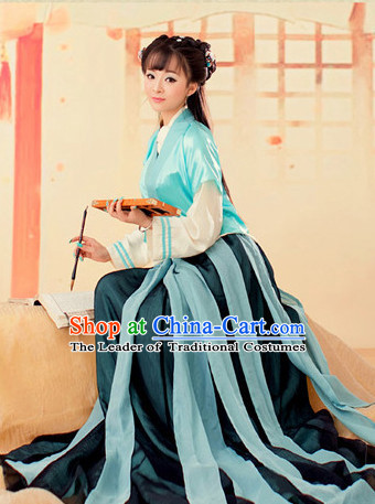 Chinese Han Dynasty Costume Ancient China Fairy Costumes Han Fu Dress Wear Outfits Suits Clothing for Women
