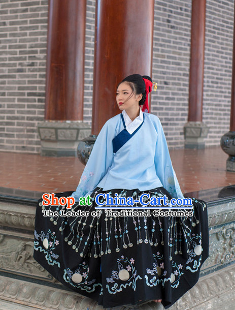 Asian Fashion Chinese Ancient Ming Dynasty Princess Clothes Costume China online Shopping Traditional Costumes Dress Wholesale Culture Clothing and Hair Jewelry for Women