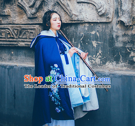 Asian Fashion Chinese Ancient Mantle Cape Clothes Costume China online Shopping Traditional Costumes Dress Wholesale Culture Clothing and Hair Jewelry for Women