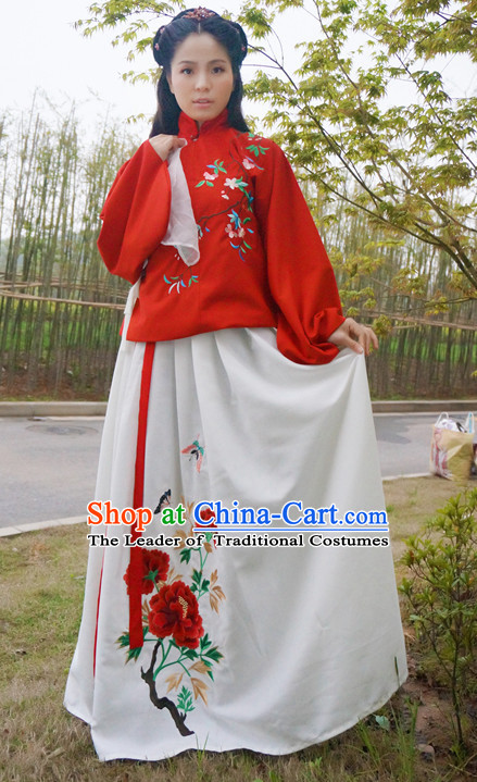 Asia Fashion China Store Qi Pao China Ancient Apparel Chinese Costumes Ming Dynasty Dress Wear Outfits Clothing for Women