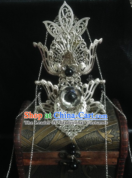 Chinese Classic Cosplay Prince Coronet Crown Headwear Headipieces Hair Accessories Hair Jewelry
