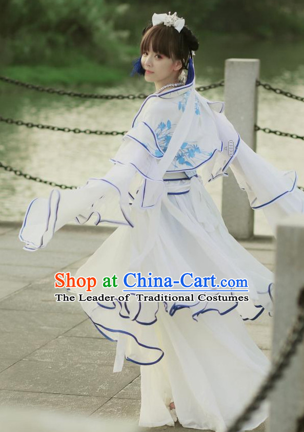 China Classical Fairy Cosplay Shop online Shopping Korean Japanese Asia Fashion Chinese Apparel Ancient Costume Robe for Women Free Shipping Worldwide