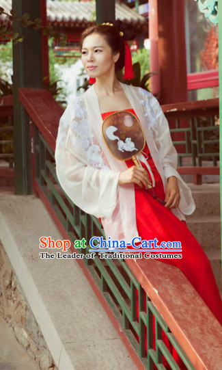Song Dynasty Ancient Chinese Costumes Classic Clothing Clothes Garment Outfits Dance Wear Embroidered Crane Wedding Dresses and Hat for Women