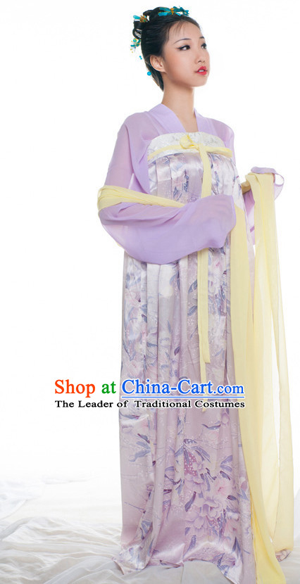 Chinese Ancient Tang Dynasty Clothes Costume China online Shopping Traditional Costumes Dress Wholesale Asian Culture Fashion Clothing and Hair Accessories for Women