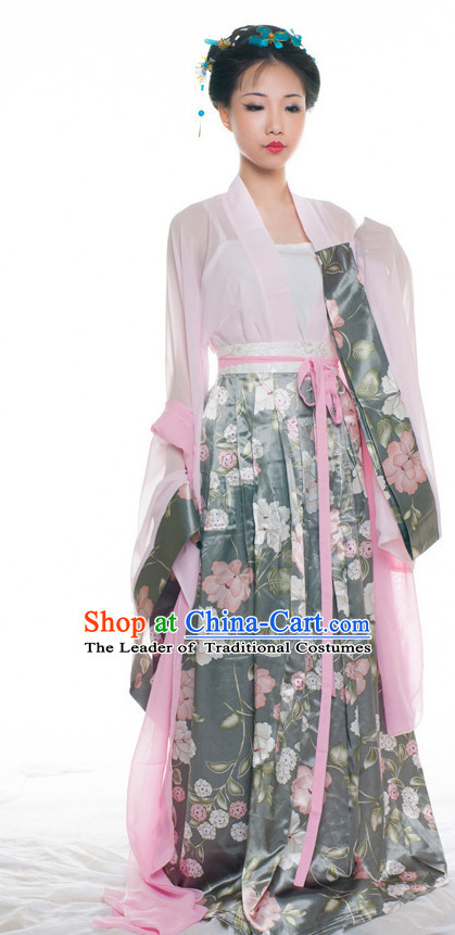 Chinese Ancient Han Dynasty Clothes Costume China online Shopping Traditional Costumes Dress Wholesale Asian Culture Fashion Clothing and Hair Accessories for Women