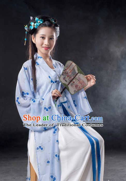 Chinese Ancient Song Dynasty Lady Clothes Costume China online Shopping Traditional Costumes Dress Wholesale Asian Culture Fashion Clothing and Hair Accessories for Women