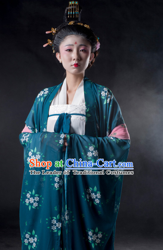 Chinese Ancient Han Dynasty Lady Clothes Costume China online Shopping Traditional Costumes Dress Wholesale Asian Culture Fashion Clothing and Hair Accessories for Women