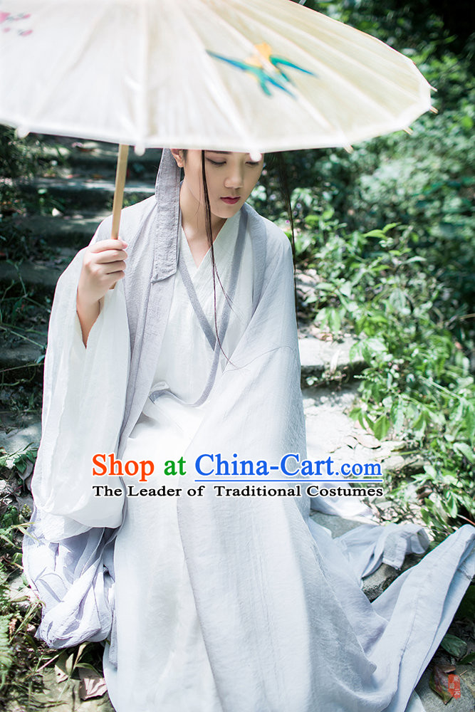 Chinese Ancient Hanfu Garment Clothes for Men or Women