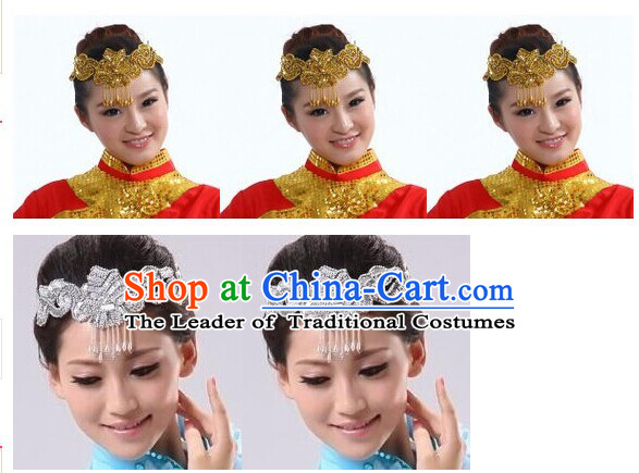 Chinese Group Dance Hair Accessories