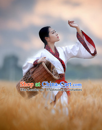 Chinese Classic Group Dance Costumes Hanfu Clothing Shop Online Dress Wholesale Cheap Clothes Wear China online