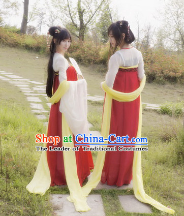 Chinese Ancient Dance Costumes for Girls