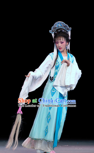Chinese Opera Nun Costumes and Headwear for Women
