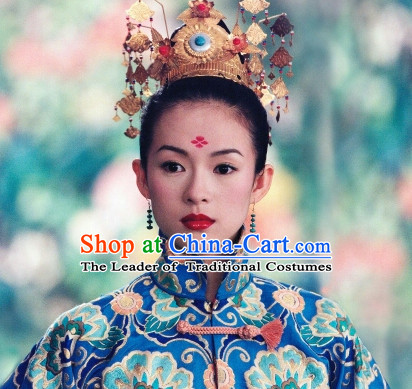 Ancient Chinese Dancer Hair Jewelry Crown