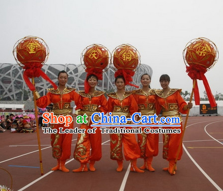 Chinese Folk Dragon Dancer Costume Chinese Costumes Carnival Costumes Fancy Dress National Garment